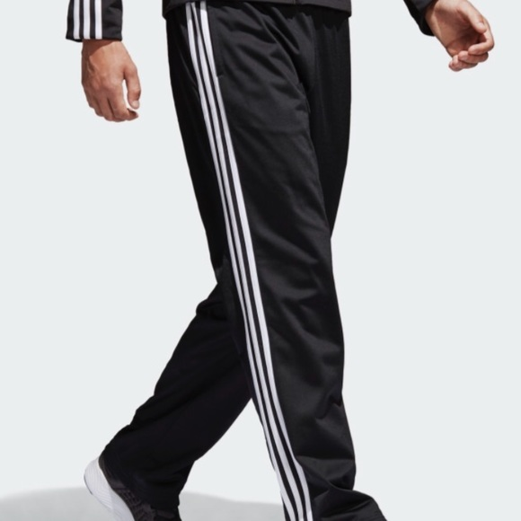 sneakers for cheap a6325 fe8f2 Men s Adidas Tricot Black white Stripe Pants NEW